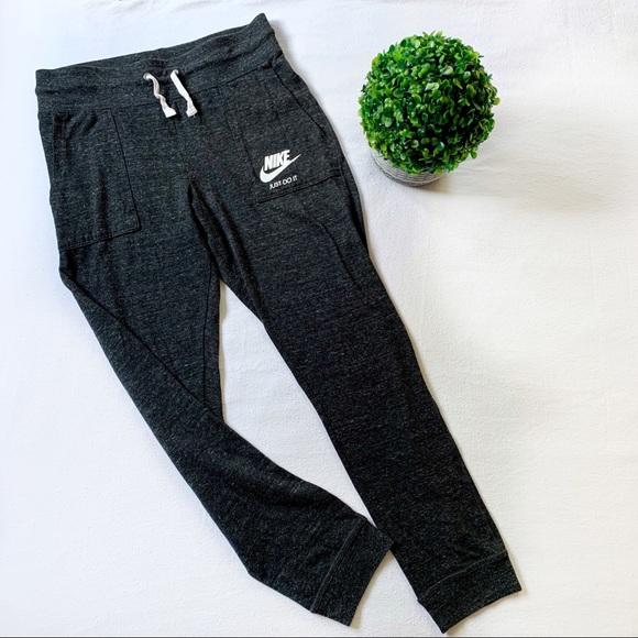 Nike Gym Vintage Jogger Sweatpants Grey Size XL